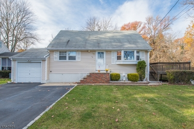 Totowa Boro Single Family Home For Sale: 437 S Riverview Dr