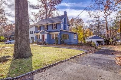 Millburn Twp. Single Family Home For Sale: 244 Glen Ave