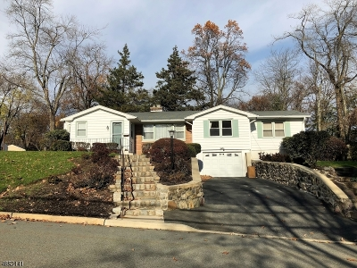 Parsippany-Troy Hills Twp. Single Family Home For Sale: 44 Sedgefield Dr