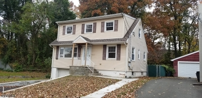 Passaic City Single Family Home For Sale: 380 Pennington Ave