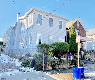 Passaic City Multi Family Home For Sale: 53 Linden St