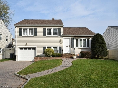 Scotch Plains Twp. Single Family Home For Sale: 417 William St