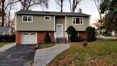 Parsippany-Troy Hills Twp. Single Family Home Active Under Contract: 30 Warren Dr