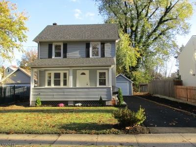 North Plainfield Boro NJ Single Family Home For Sale: $299,000