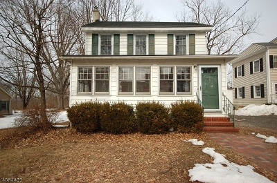 Readington Twp. Single Family Home For Sale: 65 Old Hwy 28