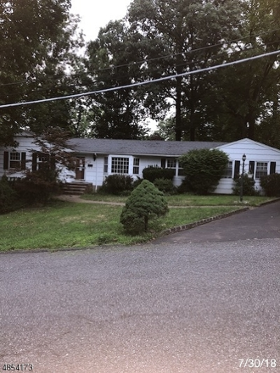 Wayne Twp. Single Family Home For Sale: 24 Fairview Ter