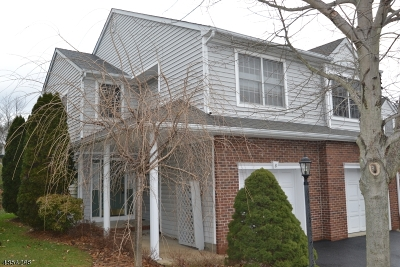 Boonton Twp. Condo/Townhouse For Sale: 8 Bradford Ter