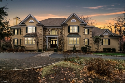 Mendham Twp. NJ Single Family Home For Sale: $999,900