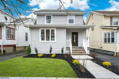 Maplewood Twp. Single Family Home For Sale: 48 Hughes St