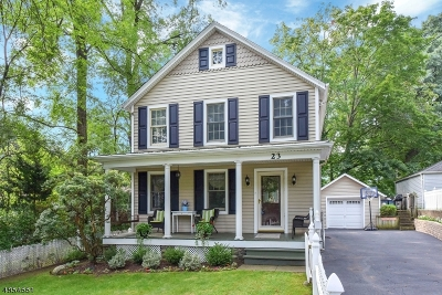 Wyckoff Twp. Single Family Home For Sale: 23 Wyckoff Ave