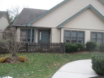 Berkeley Heights Twp. Condo/Townhouse For Sale: 20 Park Edge