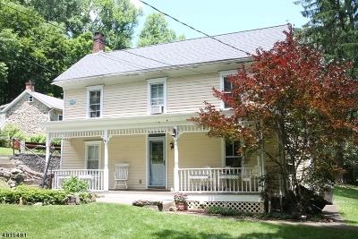 Bethlehem Twp., High Bridge Boro Single Family Home For Sale: 98 Mine Rd