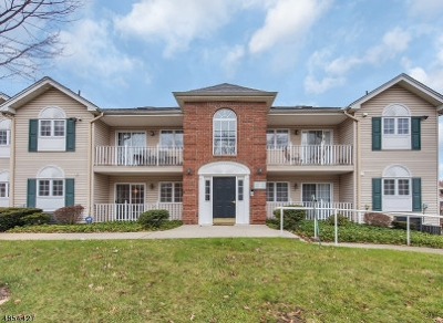 Caldwell Boro Twp. NJ Condo/Townhouse Active Under Contract: $349,000