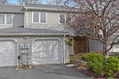 Parsippany-Troy Hills Twp. Condo/Townhouse For Sale: 186 Patriots Rd