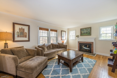 Chatham Boro Single Family Home For Sale: 277 Hillside Ave