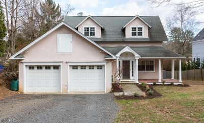 Bernards Twp., Bernardsville Boro Single Family Home For Sale: 28-1 Lloyd Rd