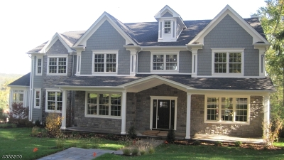 Westfield Town NJ Single Family Home For Sale: $2,200,000