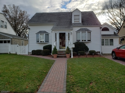 Nutley Twp. NJ Single Family Home For Sale: $415,000