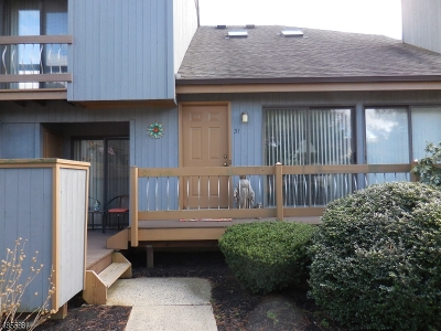 Bernards Twp. NJ Condo/Townhouse For Sale: $370,000