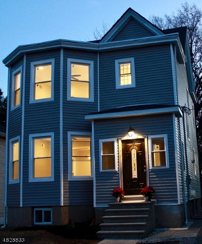 Passaic City Single Family Home For Sale: 49 Rutgers Pl