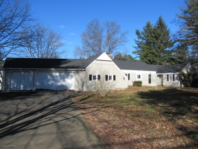 Bernards Twp. NJ Single Family Home For Sale: $489,000