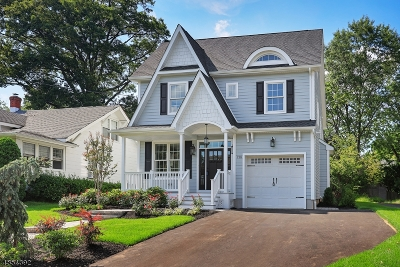 Westfield Town NJ Single Family Home For Sale: $1,199,999