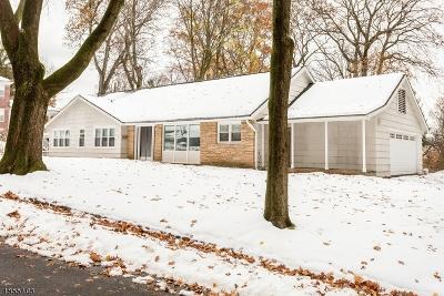 South Orange Village Twp. Single Family Home For Sale: 12 Crest Cir