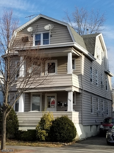 Prospect Park Boro Multi Family Home For Sale: 346 Haledon Ave