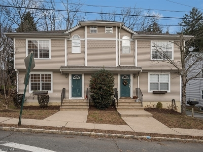 Morristown Town Condo/Townhouse For Sale: 8-C Garden St