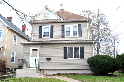 Morristown Town Single Family Home For Sale: 16 Liberty St