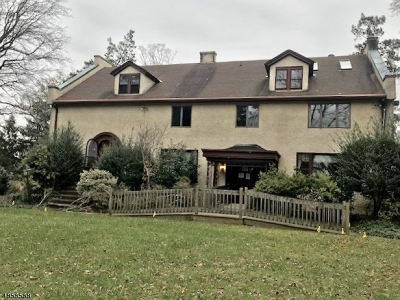Mountainside Single Family Home For Sale: 600 Sherwood Pky