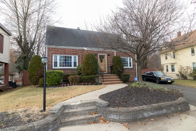 Hillside Twp. Single Family Home For Sale: 34 Williamson Ave