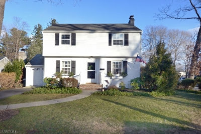 Morris County Single Family Home For Sale: 8 Post Rd