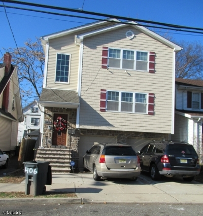 Paterson City Multi Family Home For Sale: 406-408 E 35th St