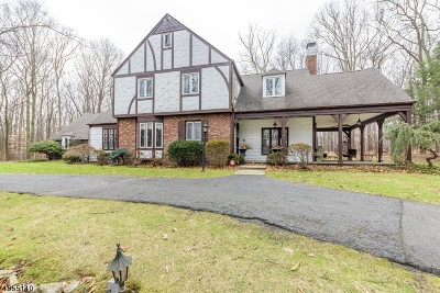 Mendham Twp. NJ Single Family Home For Sale: $850,000