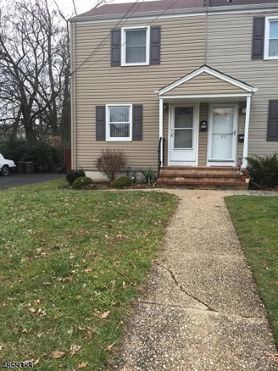 Westfield Town NJ Single Family Home For Sale: $299,000