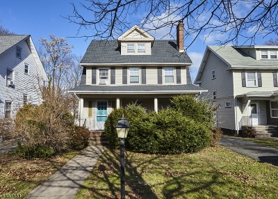 South Orange Village Twp. Single Family Home For Sale: 443 South Orange Ave
