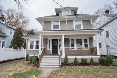 Hillside Twp. Single Family Home For Sale: 1292 Salem Ave