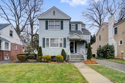 Cranford Twp. Single Family Home For Sale: 124 Columbia Ave