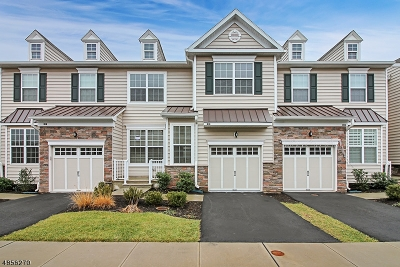 Montgomery Twp. NJ Condo/Townhouse For Sale: $550,000