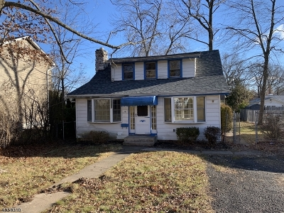 Parsippany-Troy Hills Twp. Single Family Home For Sale: 16 Navajo Ave