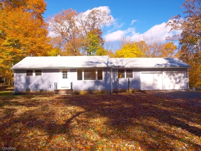 Franklin Twp. Single Family Home For Sale: 150 Allens Corner Rd