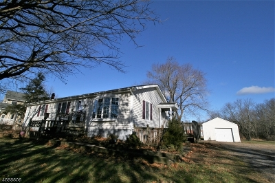 Kingwood Twp. Single Family Home For Sale: 955 State Hwy 12