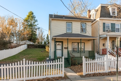 Morristown Town Single Family Home For Sale: 47 Madison St
