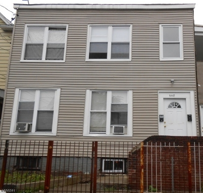 Paterson City Multi Family Home For Sale: 338 11th Ave