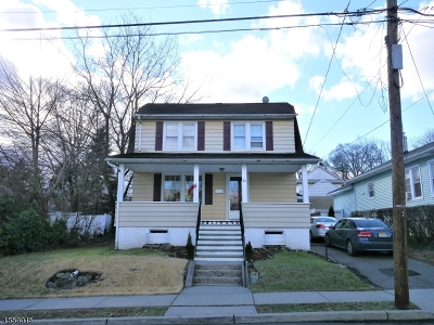 Haledon Boro Single Family Home For Sale: 26 Oxford St
