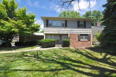 South Orange Village Twp. Single Family Home For Sale: 551 S Orange Ave