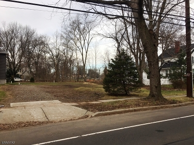 Cranford Twp. Residential Lots & Land For Sale: 320 Walnut Ave