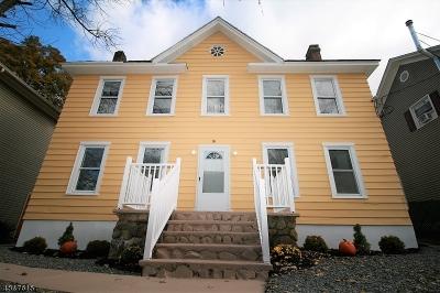 High Bridge Boro Multi Family Home For Sale: 19 E Main St