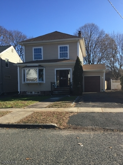 Nutley Twp. NJ Single Family Home For Sale: $399,999